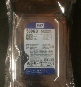 500 GB WD Blue для компьютера (3,5) SATA новый