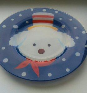 Праздничная тарелка