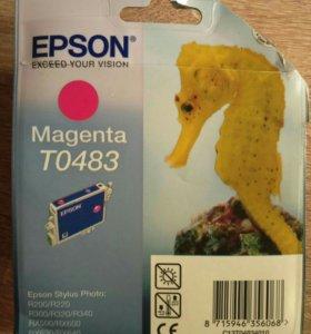 Картридж для принтера Epson Magenta TO 483