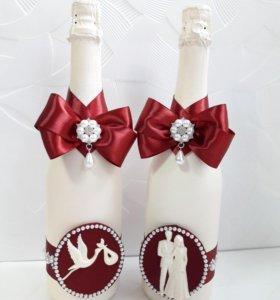 Праздничные бутылочки