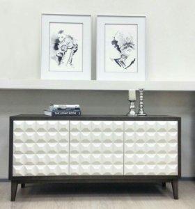 Стильная дизайнерская мебель.  комоды и тумбы.