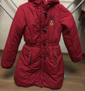 осенней куртка на девочку, рост 164