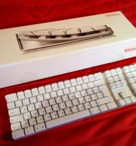 Клавиатура Apple Wireless Keyboard M9270RS/A A1016
