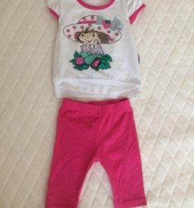 Детский костюмчик (футболка+леггинсы)