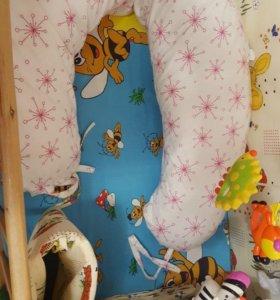 Подушка для беременных и кормления.