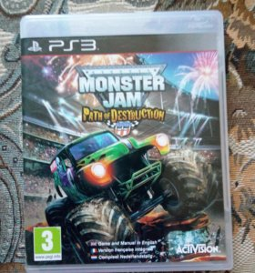Monster Jam игра для PS3