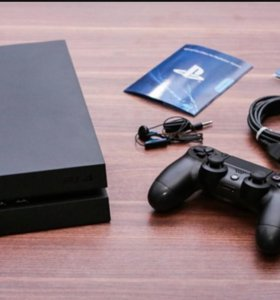 PlayStation 4 black 500gb + DualSchock4 + 2 игры
