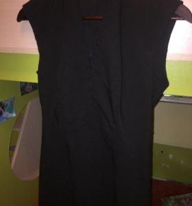 Чёрное новое элегантное платье 44 р-р