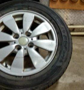 Колеса, диски r14 4/98на Lada(ВАЗ)