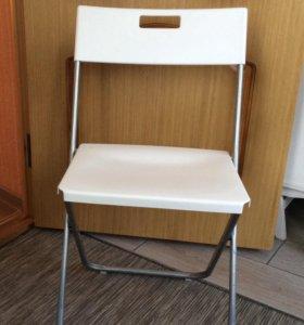 Складные стулья новые