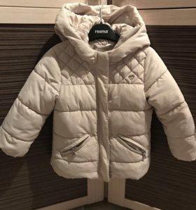 Zara, размер 92, утепленная куртка,