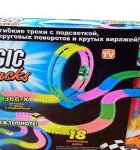 Гоночная трасса Magic Tracks - Трек 366 деталей