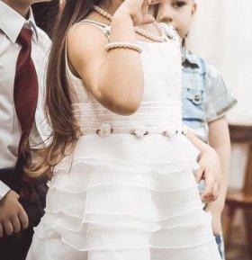 Праздничное платье для девочки 104 размер