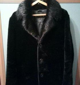 Шуба, пальто меховое, мутон