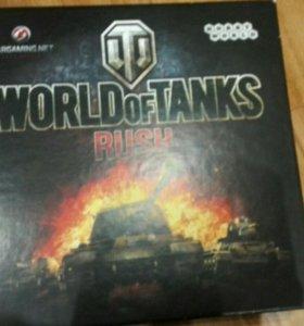 Карточная игра WORLDofTANKS RUSH