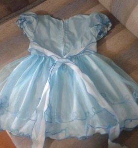Платье на 1- 1,5 года