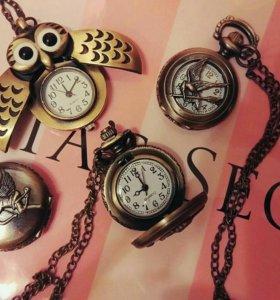 Часы, подвеска сувенир, карманные новые