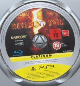 Resident Evil PLATINUM для playstation 3 + книжка