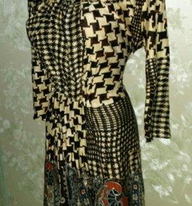 Тёплое платье 40-44