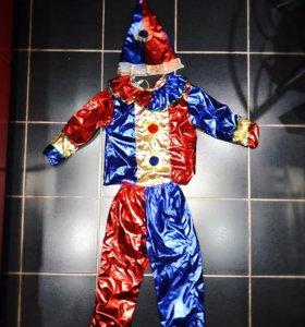 Новогодний костюм Клоун (новый)