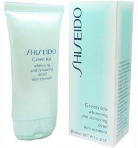 Скраб Shiseido Green Tea Whitening And
