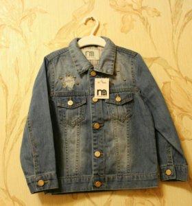 Джинсовая курткв