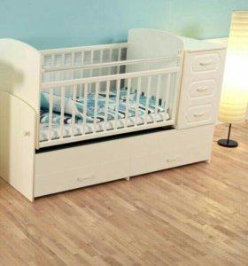 Детская кроватка - трансформер модель-02.