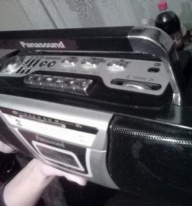 Магнитофон кассетный Раnasound новый