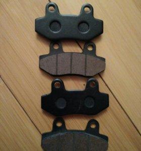 Тормозные колодки для мотоцикла Хьюсонг