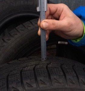 Шины Michelin зимние (липучки)