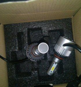 Led лампы h3 и 9005