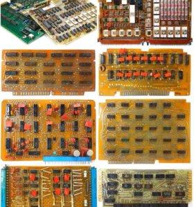 Платы, микросхемы, радиостанции, радиолом