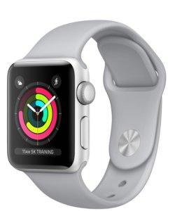 Apple Watch s 3, 42 мм серебристые (новые)