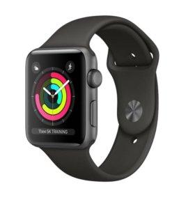 Apple Watch 3 .42 мм Space Gray (новые)