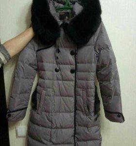 Зимнее пальто б\у