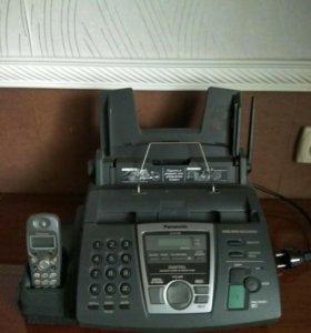Телефон + факс Panasonic