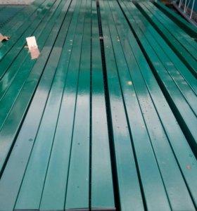 Столб (ППК)3,м, 50х50\1,5мм (зел)
