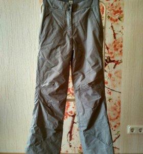 Зимние утеплённые брюки 42 размера