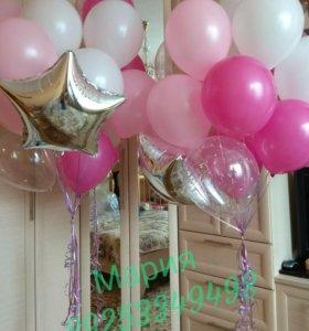 Гелиевые шарики, изделия из шаров