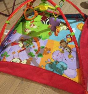 Развивающий коврик TinyLove «Разноцветное сафари»