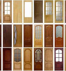 Межкомнатная дверь Светлый Лак со стеклом,