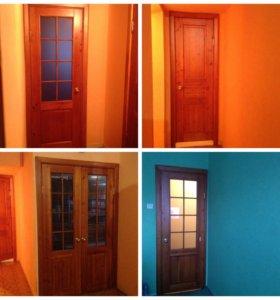 Межкомнатные двери (массив)