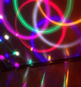 Светящийся шар к новому году