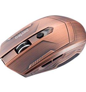 Беспроводная мышь Perfeo Metallic