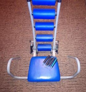 Тренажёр для мышц пресса и спины