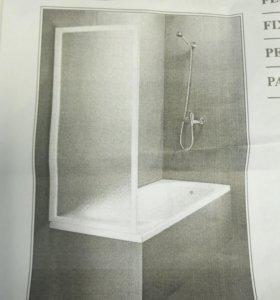 Душевая перегородка на ванну