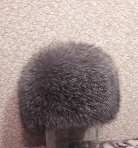 Жен.шапка чернобурка