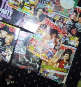 Журналы-комиксы с постерами