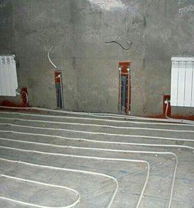 Расчёт и монтаж систем отопления