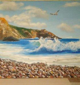 """Картина """" Море и чайка"""""""